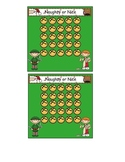 Christmas Theme Incentive Sticker Chart