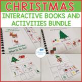 Christmas Theme Interactive Books and Activities Bundle