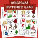 Christmas Theme Matching Game