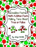 Christmas Theme Math Addition Sheets