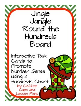 Multi-Step Mental Math Number Sense and Operations Task Cards- CHRISTMAS