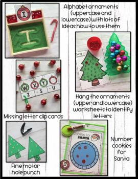Preschool Christmas Theme Pack