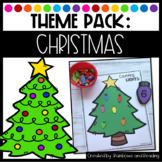 Christmas Theme Pack for Preschool, Pre-K, and Kindergarten