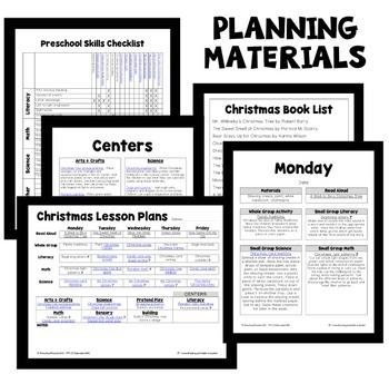 Christmas Theme Preschool Lesson Plans