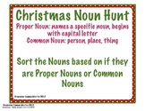 Christmas Theme Proper and Common Nouns