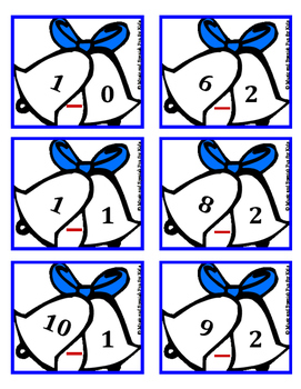 Christmas Theme Spanish Math worksheets