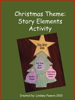 Christmas Theme: Story Elements Activity