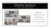 Christmas Theme Virtual Classroom BUNDLE - Bitmoji