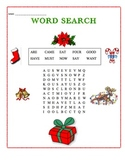 Christmas Theme Word Search - Sight Words #01