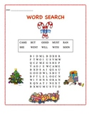 Christmas Theme Word Search - Sight Words #03