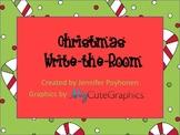 Christmas Theme Write the room