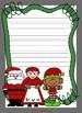 Christmas Theme Writing Paper