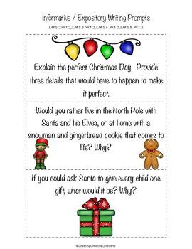 Christmas Theme Writing Prompts