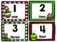 Christmas Themed 100's Chart Math Center Activity