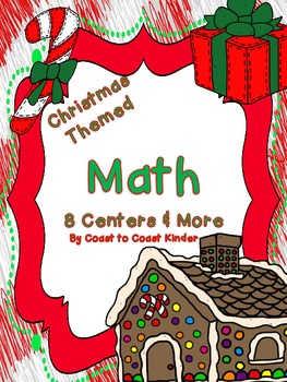 Christmas Themed-Math 8 Centers & More