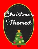 Christmas Themed Activities