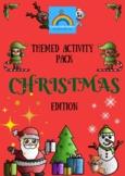 Christmas Themed Activity Pack - cross-curricular