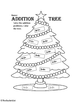 Christmas Math Printables Worksheets for all | Download and Share ...