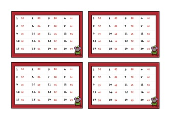 Christmas Themed Addition and Subtraction Task Cards and Slides