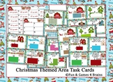Christmas Themed Area Task Cards