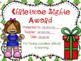 Editable Christmas Awards Holiday Certificates