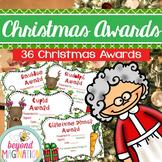 Editable Christmas Awards
