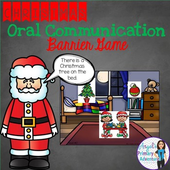 Christmas Themed Barrier Game for Oral Communication