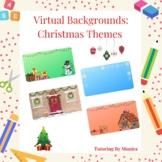 Virtual Backgrounds & Borders: Christmas Themed