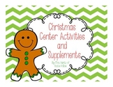 Christmas-Themed Center Activities & Supplements