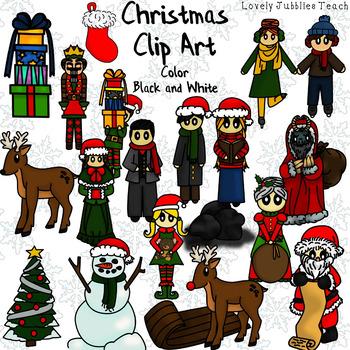 Christmas Themed Clip Art