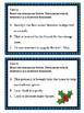 Christmas Themed Complete Sentences vs. Sentence Fragments Task Cards