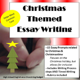 Christmas Themed Essay Writing, w Rubrics & Printables