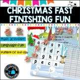 Boggle, Scattergories, what's your word worth? Christmas