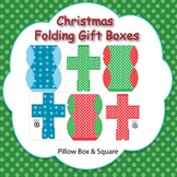 Christmas Themed Folding Boxes - 2 Styles