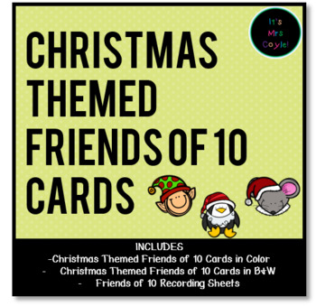 Christmas Themed Friends of 10 Cards