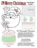 Christmas Themed Fun Page (CHRISTIAN)