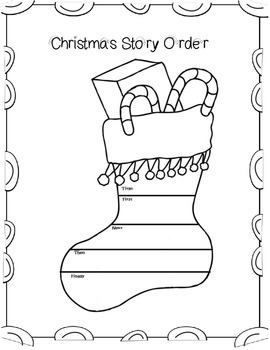 Christmas Themed Graphic Organizers For Your Favorite Stories