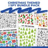 Christmas Themed I Spy Games Pack