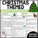 Christmas Themed Information Texts - Reading Strategy Comprehension