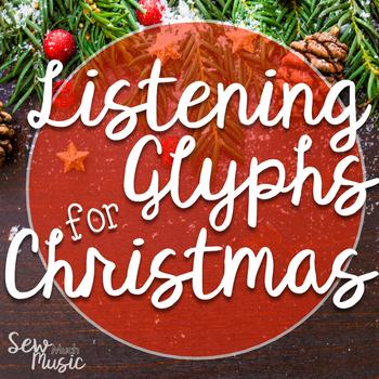 Christmas Themed Listening Glyphs