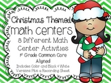 Christmas Themed Math Centers