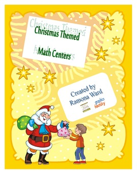 Christmas Themed Math Centers