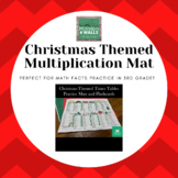 Christmas-Themed Multiplication Mat