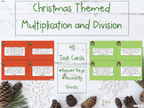 Christmas Themed Multiplication and Division Word Problems