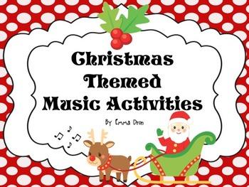 Christmas Themed Music Activities