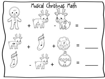 Christmas Themed Music Activities