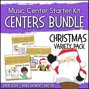 Christmas Themed Music Center Starter Kit - Variety Pack Bundle