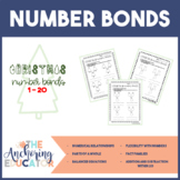 Christmas Themed Number Bond Worksheets