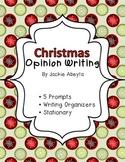 Christmas Themed Opinion Writing