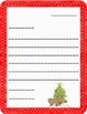 Christmas Themed Paper *Friendly Letter *FREEBIE
